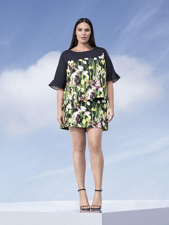 Candice Huffine Victoria Beckham Coleccion Plus size