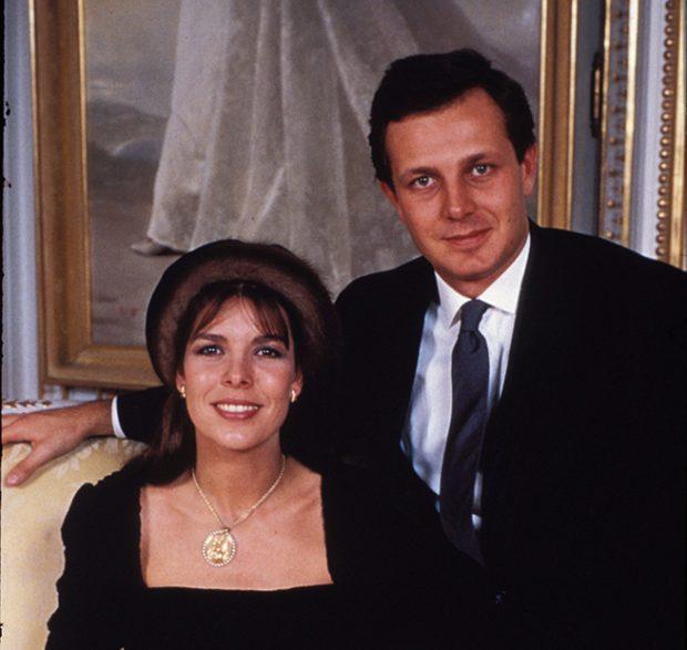 Carolina de Mónaco y Stefano Casiraghi
