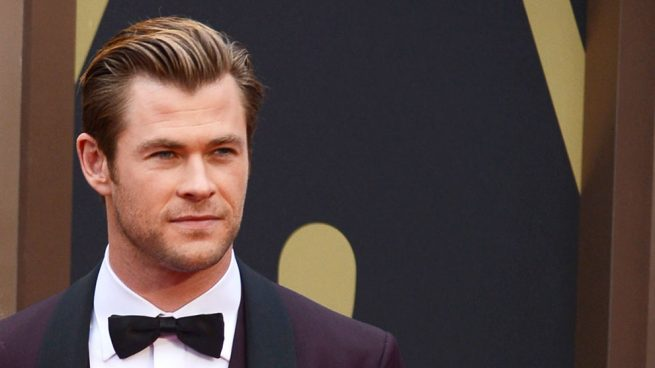 Chris Hemsworth padres famosos