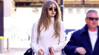 Gigi Hadid paseando por las calles de NY / Gtres