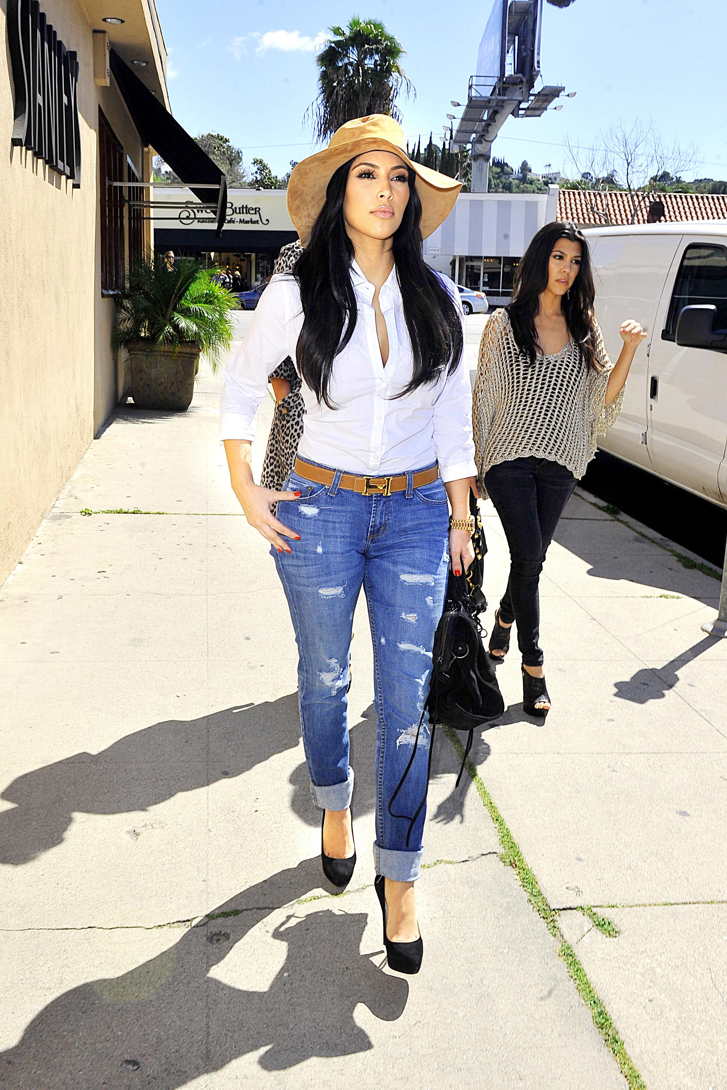 Kim Kardashian Sombrero