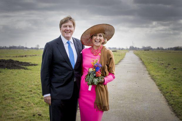 Máxima de Holanda y Guillermo de Holanda
