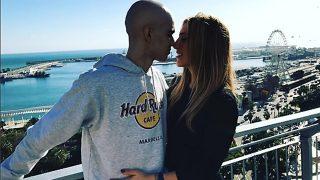 Pablo Ráez y su novia (Instagram)