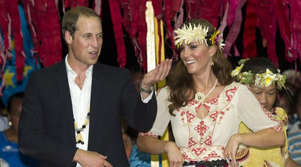El príncipe Guillermo y Kate MIddleton