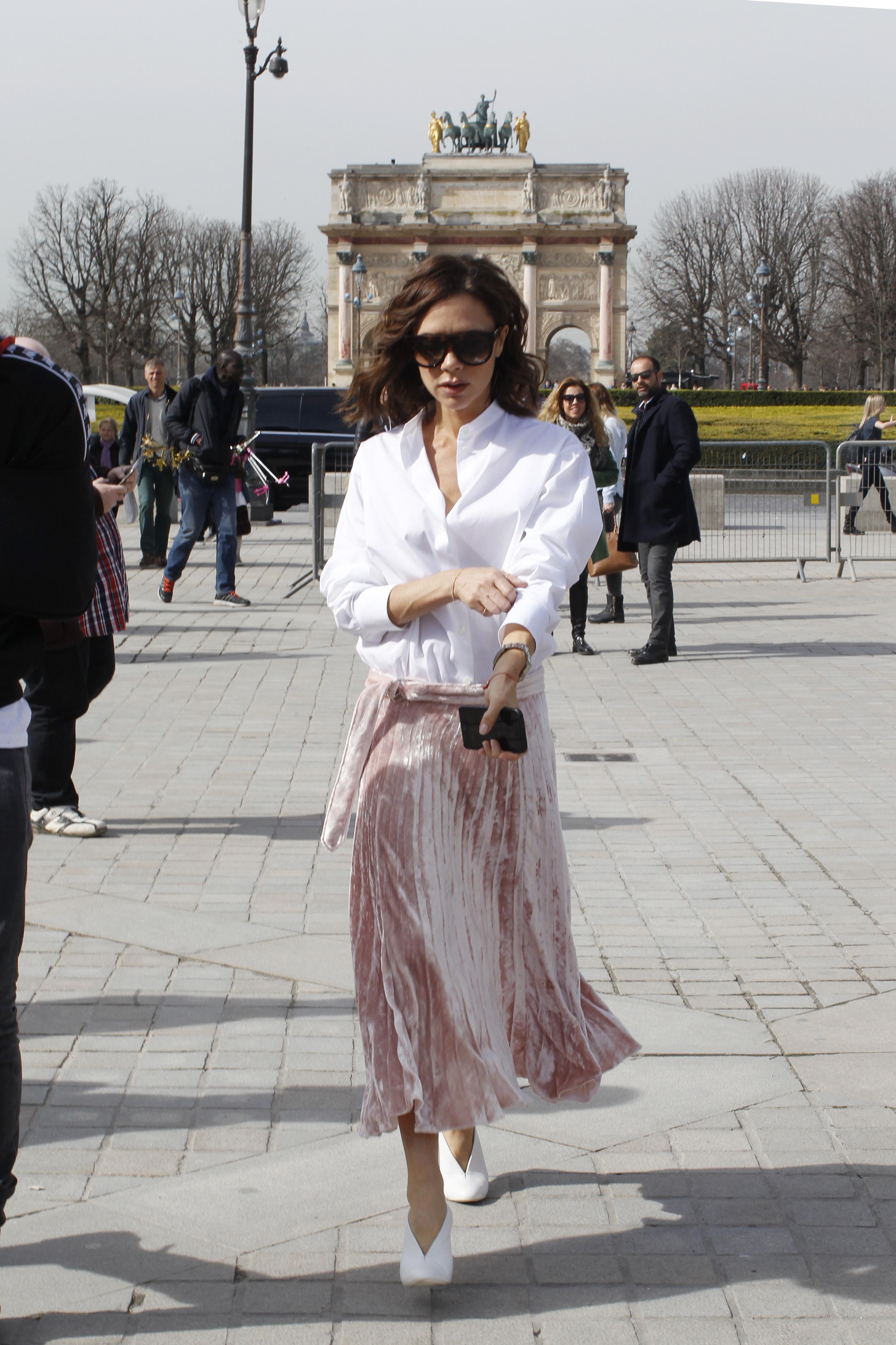 Victoria Beckham Primavera Camisa