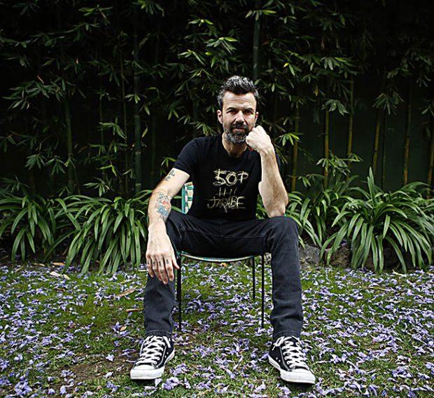 Pau Donés en su promoción de '50 palos' / Gtres