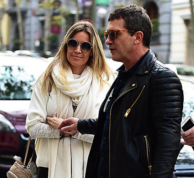 Antonio Banderas y Nicole Kimpel en una imagen de archivo /Gtres