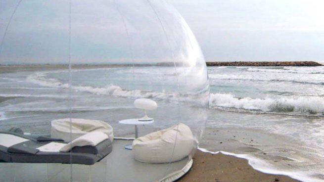 'Bubble Tent' o cómo tener una burbuja con vistas