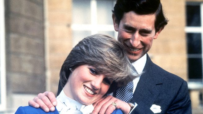 El príncipe Carlos de Inglaterra y Lady Di