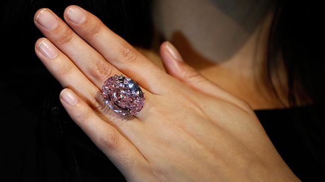 Diamante 60 millones estrella rosa
