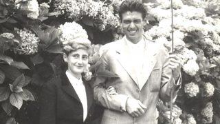 La duquesa Roja y su marido Leoncio, en una imagen del álbum familiar.