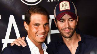 Rafa Nadal y Enrique Iglesias en la inauguración del restaurante Tatel Miami / Gtres