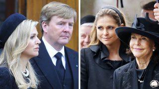 La realeza europea acude al funeral de Richard zu Sayn-Wittgenstein Berleburg / Gtres
