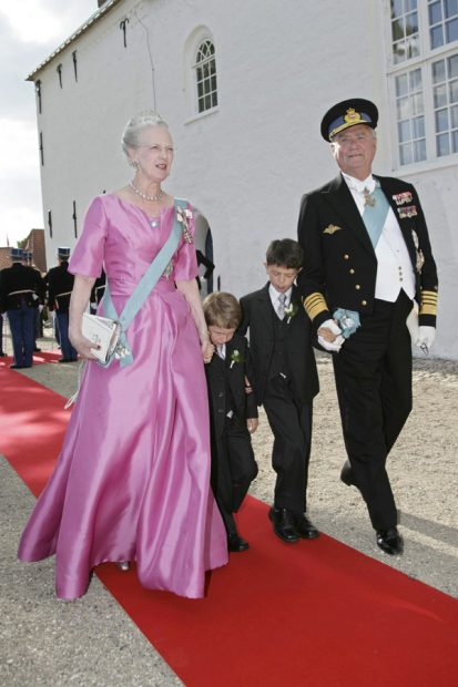 reina margarita y principe henrik