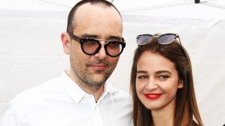Risto Mejide y la modelo Laura Escanes en imagen de archivo / Gtres