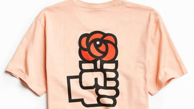 Camiseta Urban Outfitters PSOE
