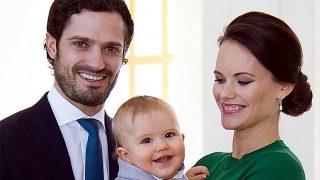 Carlos Felipe de Suecia y Sofía con su primer hijo / Instagram