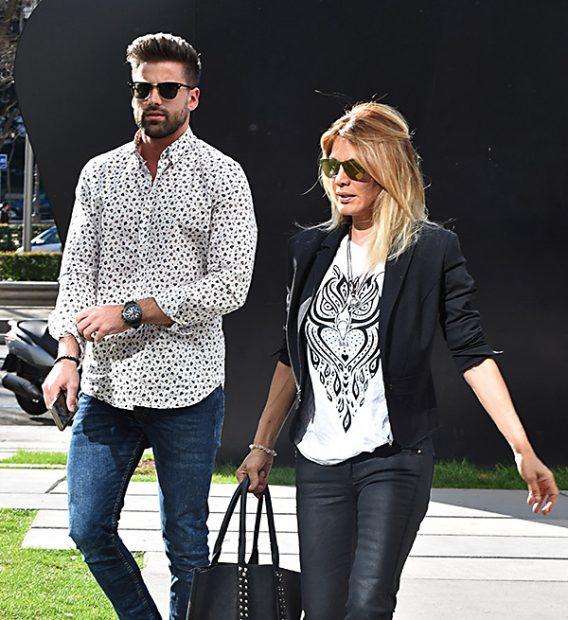 La presentadora Ivonne Reyes y Sergio Ayala por las calles de Madrid/ Gtres