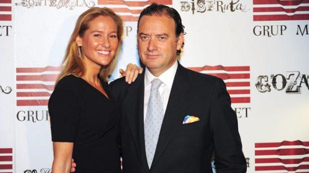 Fiona Ferrer y Jaime Polanco