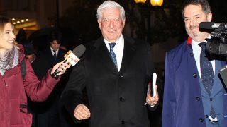 El escritor Mario Vargas Llosa, en su acto 'diálogos ABC'. / GTRES