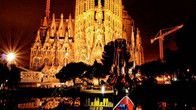 La Sagrada Familia / Barcelona Beer Festival cerveza