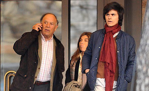 El Marqués de Griñón y sus hijos Sandra y Duarte / Gtres