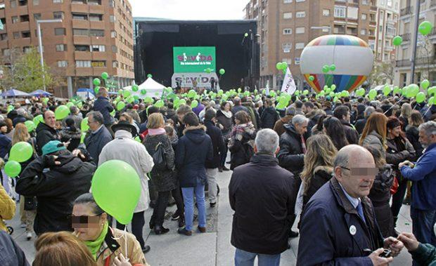 Asociaciones Pro-Vida se Concentran el la Paz Felipe II de Madrid con motivo del día internacional de la Vida /Gtres
