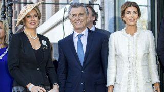 Los reyes de Holanda reciben al presidente de Argentina y a su mujer / Gtres
