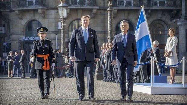 Mauricio Macri y Guillermo de Holanda