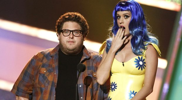 Jonah Hill y Katy Perry