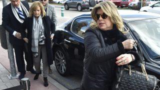 Las Campos dan su último adiós a Paloma Gómez Borrero / Gtres