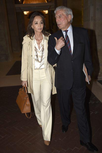 Isabel Preysler y el escritor Mario Vargas Llosa