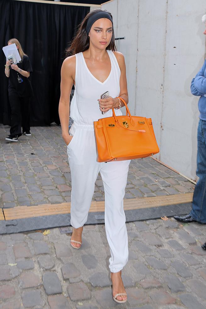 Irina Shayk Birkin Hermès