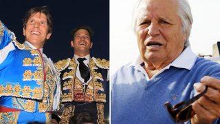 Primer encuentro de Manuel y Julio el pasado 11 de Marzo, y Manuel Benítez (Dcha) / Gtres