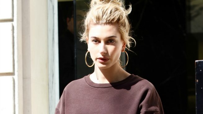 Tendencias Primavera 2017 Sporty Chandal Hailey Baldwin
