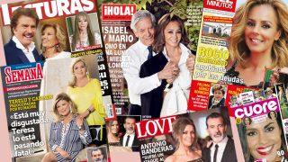 Las revistas de este miércoles, en un fotomontaje de LOOK