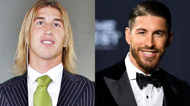 Sergio Ramos transformación cambio estilo