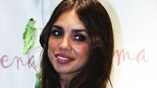 Elena Furiase durante una inauguración este jueves en Madrid / Gtres