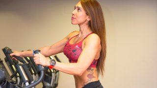 La entrenadora personal Mirna Pérez nos enseña una rutina fullbody / Gtres