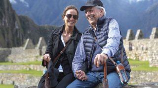 Isabel Preysler y Mario Vargas Llosa en su visita a Machu Picchu / Gtres (Pinchar en la imagen para ver galería)