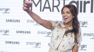 Paula Echeverria durante la presentación de la firma «Smartgirl by «Samsung »  (Gtres)