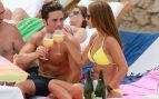 David Bustamante y Paula Echevarría de vacaciones en Ibiza en julio de 2012