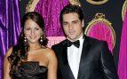 Paula Echevarría acompañada por David Bustamante en 2008