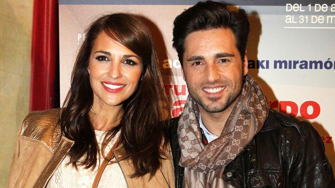 David Bustamante y Paula Echevarría