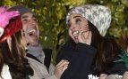 El cantante David Bustamante y la actriz Paula Echevarría