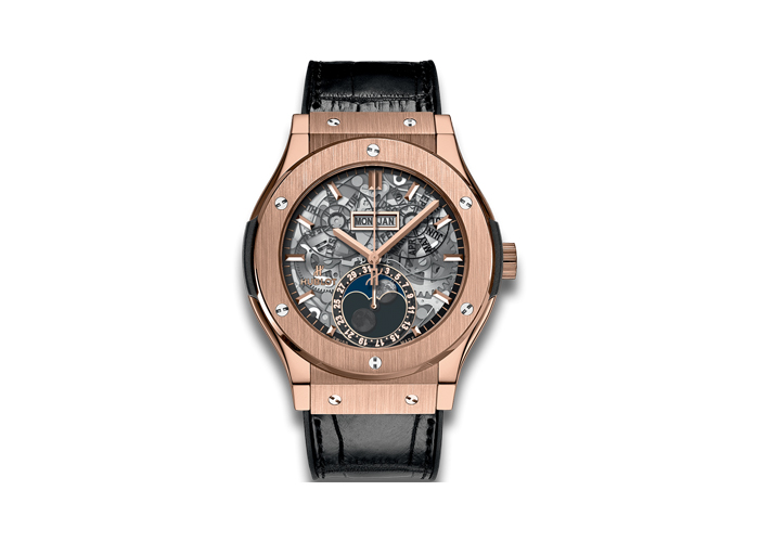 Hublot Aerofusion Moonphase King Gold relojes