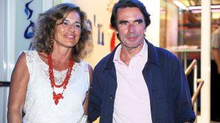 El expresidente José María Aznar y Ana Botella, en una imagen de archivo. / GTRES