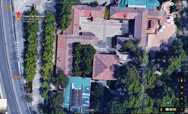 El Palacio de Negralejo está situado en la Ctra. San Fernando