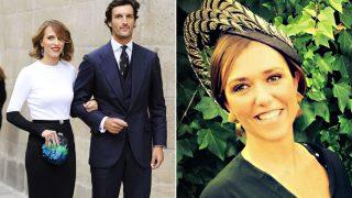 Rafael Medina con Laura Vecino (drcha) en archivo de Gtres / Patricia Vecino (izqda) en Instagram
