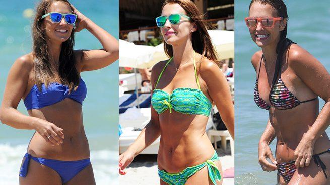 Paula Echevarría bikini hawkers